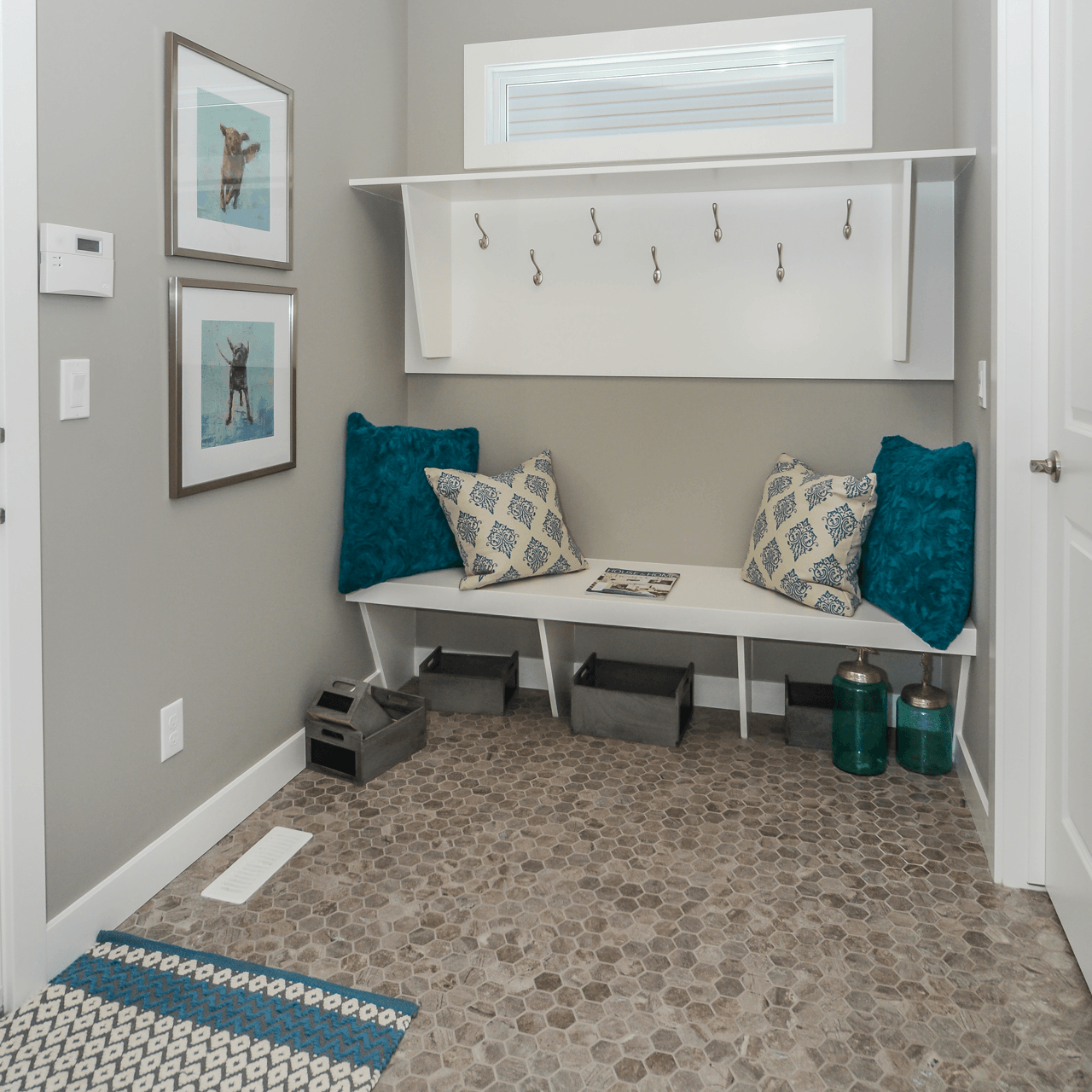 What's Under Your Feet Your New Home Flooring Options Mudroom Image