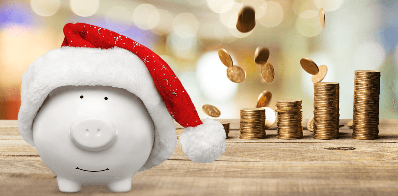 7 Holiday Season Saving Habits Pig Featured Image