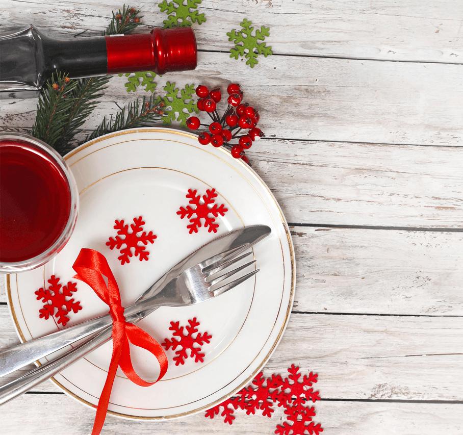 9 DIY Christmas Dinner Displays Setting Image