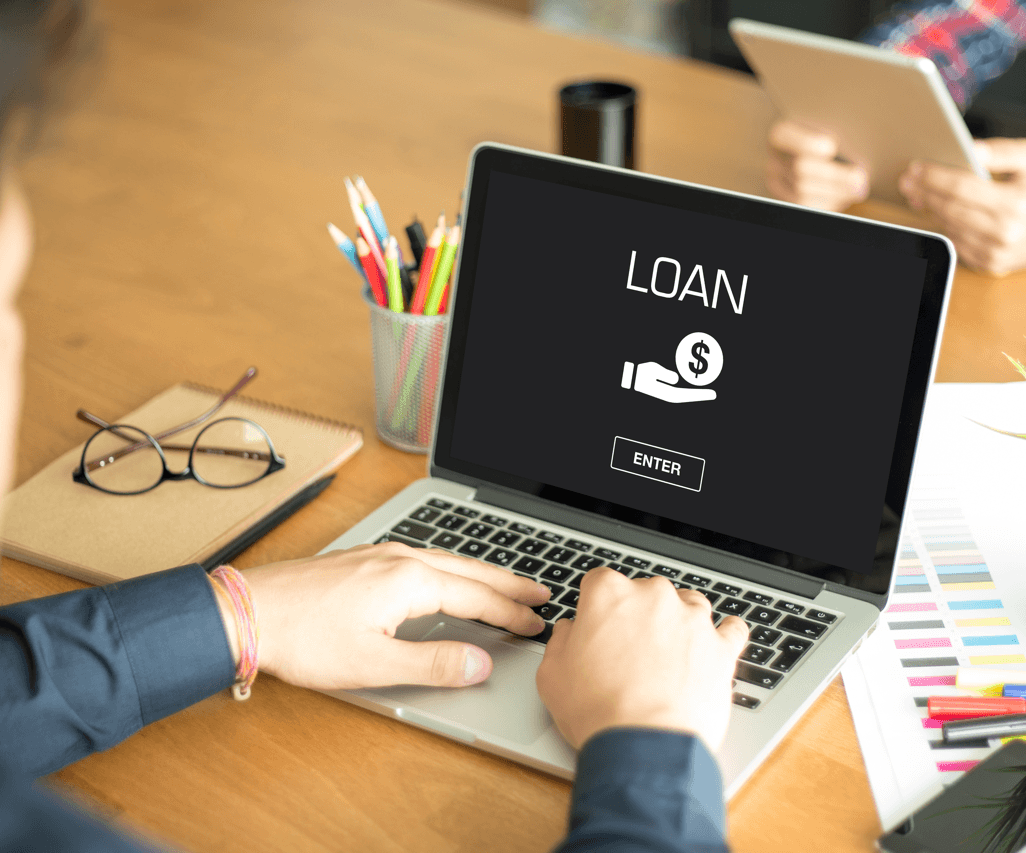 Getting a Mortgage: Finding the Right Lender Laptop Image