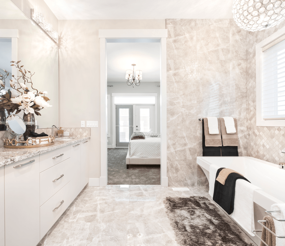 What's Overhead Your New Home Lighting Optionss Bathroom Image