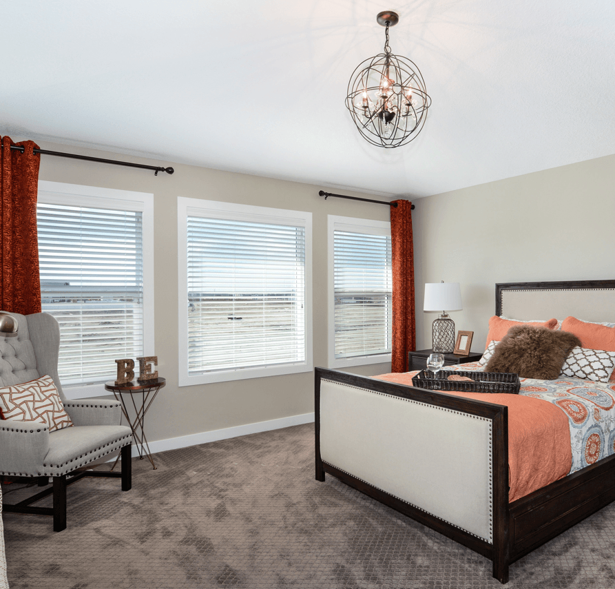 What's Overhead Your New Home Lighting Options Bedroom Image