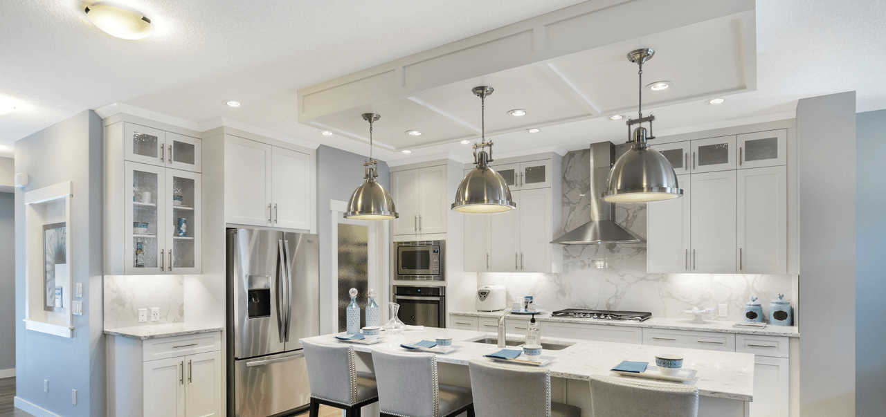 What's Overhead Your New Home Lighting Options Kitchen Featured Image