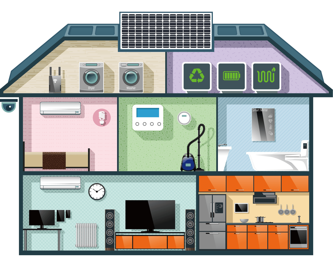 Building Green Homes A Sterling Advantage Vector Image
