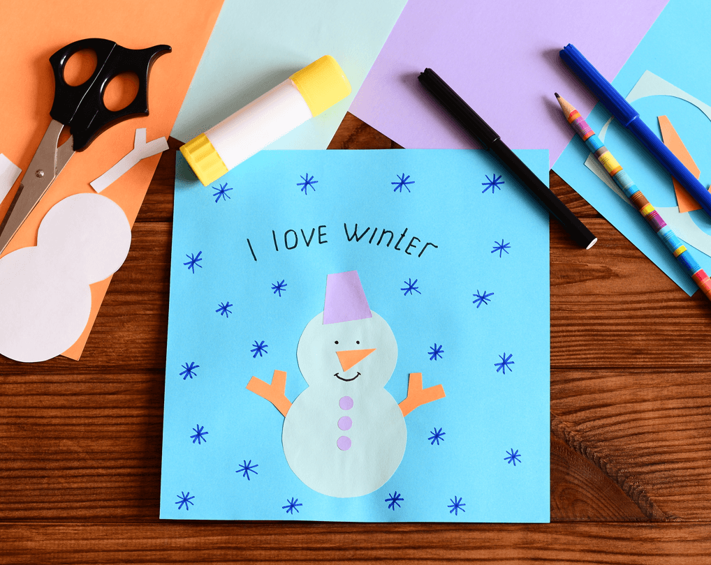 Family Activities to Cure Winter Boredom Art Image