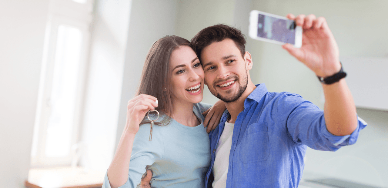 Sterling Makes Happy Home Owners Happier Couple Featured Image