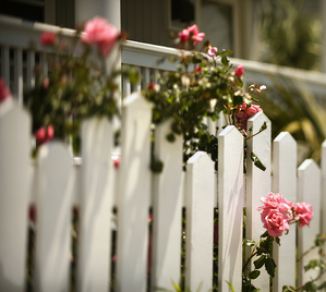 Fencing Your New Property in Calgary Picket Fence Image