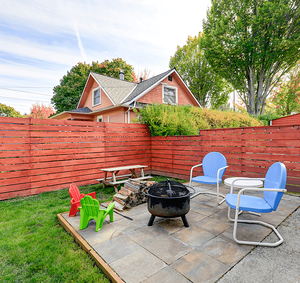 Fencing Your New Property in Calgary Wood Fence Image