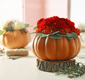 6 Thanksgiving Centrepieces You Can Make Yourself Pumpkin Image